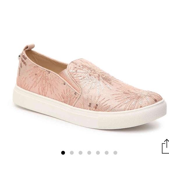 1af50346041 Steve Madden Crackle Rose Gold Shoes Size 6.5M